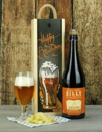Happy Birthday Silly Saison Beer Gift