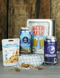 Beer Fest With Nuts Gift Tin