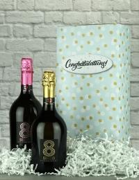 Congrats Prosecco Wine Gift