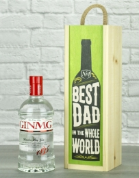Best Dad In The World Gin Gift