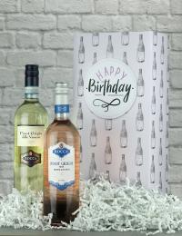 Happy Birthday Pinot Grigio Gift