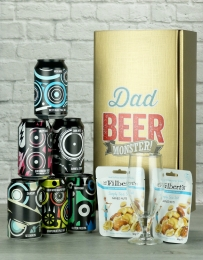 Dad Beer Monster Beer & Nut Gift Selection