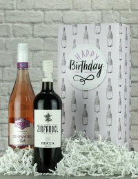 Happy Birthday Italian Mix Wine