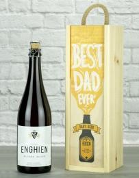 Best Dad Ever Belgian Beer Gift