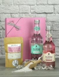 Bloom Gin & Tonic with Bath Salts Gift