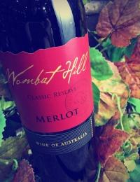 Reserve Merlot, Wombat Hill