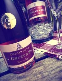 G Gruet & Fils Rose Champagne