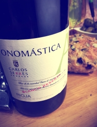 Onomastica Blanco, Rioja Reserva, Bodegas Carlos Serres