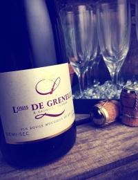Sparkling Rouge Demi Sec, Acajou, Louis De Grenelle