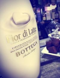 Fior di Latte, White Chocolate and Grappa Liqueur