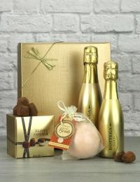 Prosecco with Bath Bomb & Truffles Gift