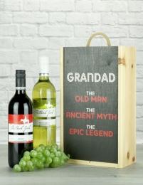 Grandad The Legend Australian Twin Gift
