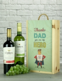 Thanks Dad Chilean Wine Twin Gift