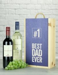 Best Dad Ever Italian Wine Gift