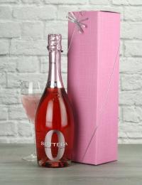 Bottega Zero Alcohol Sparkling Rose Wine Gift
