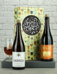 Festive Belgian Beer Twin Gift Pack