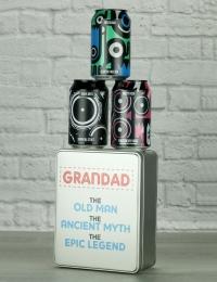 Grandad The Legend Craft Beer Gift Tin