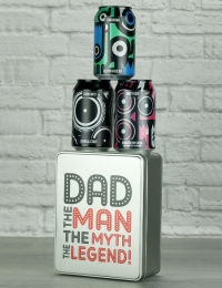Dad The Legend Craft Beer Gift Tin