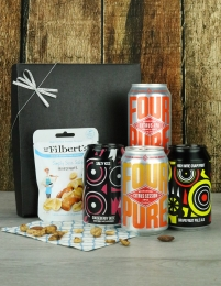 Mixed Four & Nuts Beer Gift