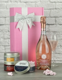 Prosecco Rose & Pamper Products Gift Set