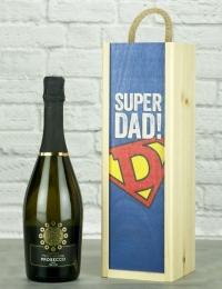 Super Dad Prosecco Wine Gift