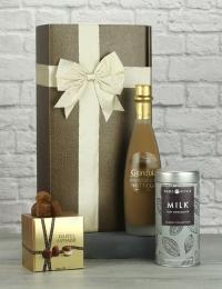 Chocolate Liqueur, Truffles & Hot Chocolate Gift