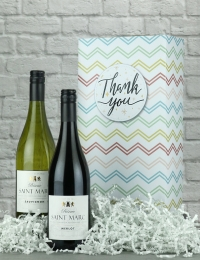 Thank You French Wine Gift