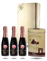 Bottega Amore, Mini Moscato Sweet Sparkling Wine & Truffles