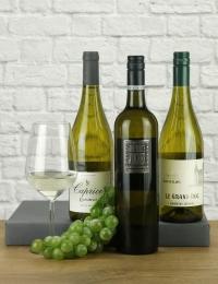 Trio of Aromatic White Wines around World