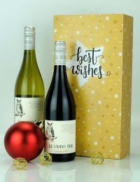 Best Wishes French Wine Duo - Sleeve