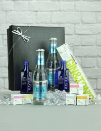 Gin Infusions with Gin and Tonics Gift Set, Presented in a Black Box