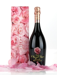 Bottega Petalo Vino Amore Moscato With Rose Scented Gift Box