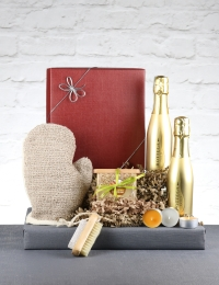Bubbles and Scrub Prosecco Gift Box