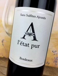Chateau L'Etat Pur, Bordeaux Rouge (Natural Wine)