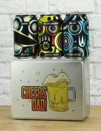Cheers Dad Beer Tin Gift