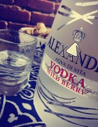 Colors Wild Berry Vodka Alexander