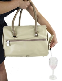 Drinksbag - Beige Cosmopolitan + 2 Refreshment Packs
