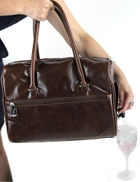 Drinksbag - Antique Brown Cosmopolitan + 2 Refreshment Packs