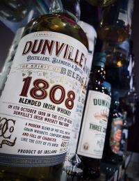 Dunvilles 1808 Blended Irish Whiskey