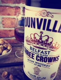 Dunvilles Three Crowns Irish Whiskey