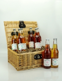 French Cidre Hamper, Ecusson
