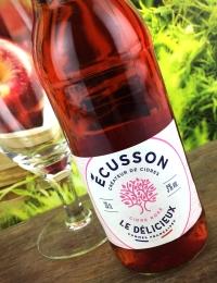 Ecusson Le Delicieux Cidre Rose 33cl