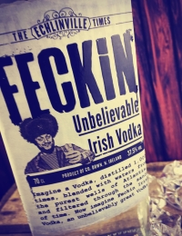 Feckin Irish Vodka
