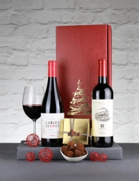 Festive Carlos Serres Rioja Twin Pack with Truffles