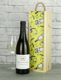French Chardonnay Wood Box Gift