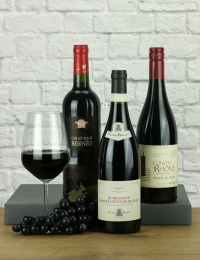Trio of French Red Wines