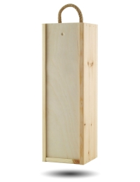 Wooden Giftbox for 1 bottle