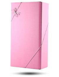Pink Gift Box for 2 bottles