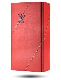 Red Gift Box for 2 bottles