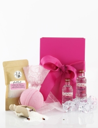 Gin & Bath Salts Mini Spa Gift Box